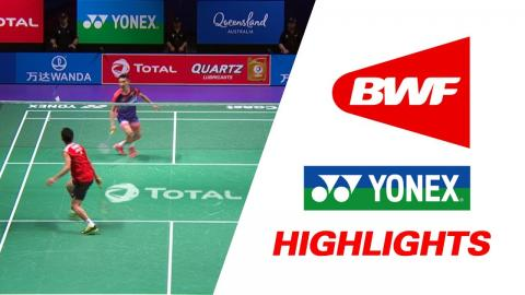 TOTAL BWF Sudirman Cup 2017 | Badminton Day 6 Grp 1 QF - JPN vs MAS – Highlights