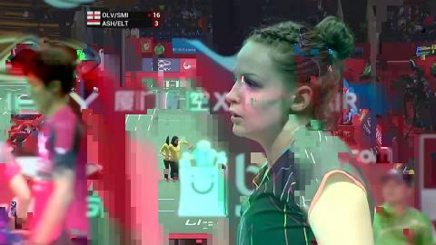 TOTAL BWF World Championships 2015 | Badminton Day 1 R64 M3-WD | Olv/Smi vs Ash/Elt