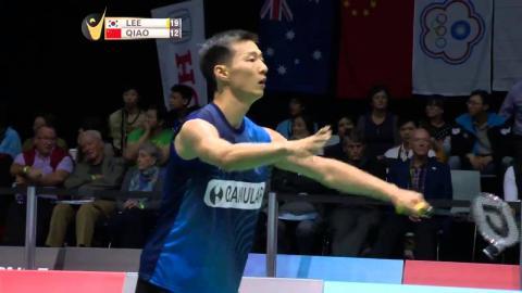 Lee Hyun II vs Qiao Bin | MS F Match 3 SKYCITY New Zealand Open 2015