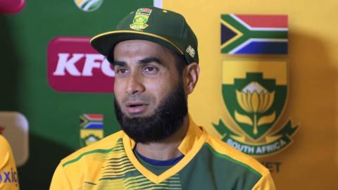 Imran Tahir equals his own record against England in the 1st T20 at Cape Town