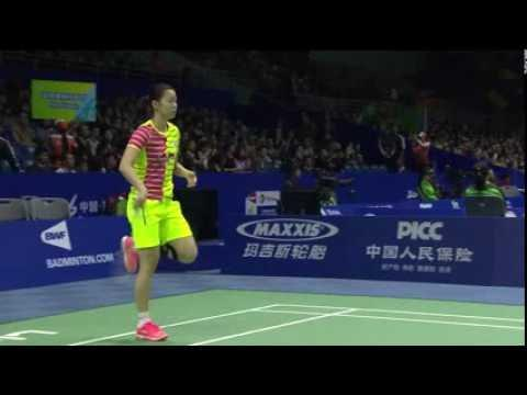 TOTAL BWF Thomas & Uber Cup Finals 2016 | Badminton Day 1/S2-Uber Cup Grp A- CHN vs MAL (Court 2)