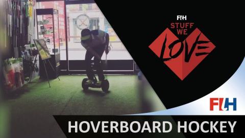 Hoverboard hockey after work - Hockey Stuff We Love