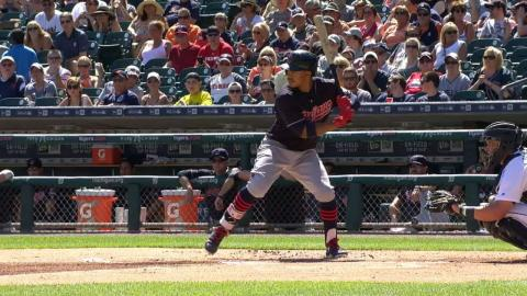CLE@DET: Lindor launches two solo home runs