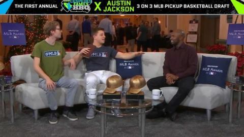 Austin Jackson's pick-up basketball team