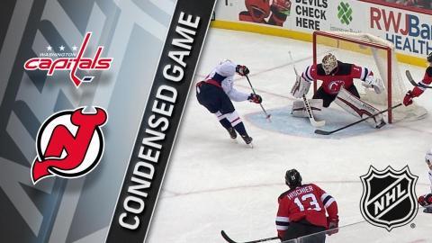 01/18/18 Condensed Game: Capitals @ Devils