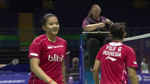 TOTAL BWF Thomas & Uber Cup Finals 2016 | Badminton-Day 2/S2- Uber Cup Grp C INA vs HK – Highlights