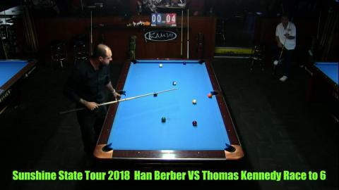 Han Berber VS  Thomas Kennedy  2018 Sunshine State Tour