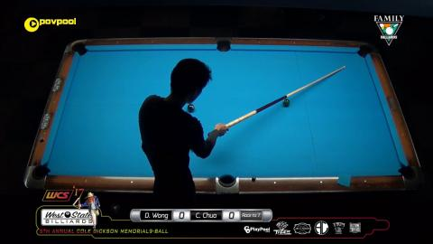 #4 • Delbert WONG vs Chris CHUA / 2017 Cole Dickson 9-Ball