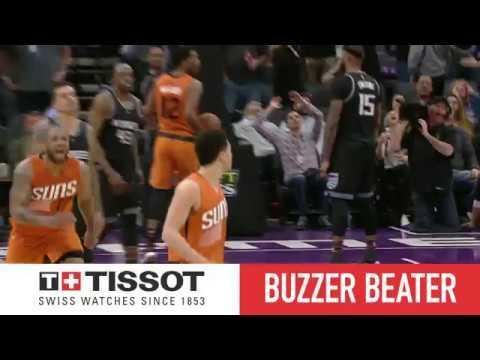 Tissot Buzzer Beater: Devin Booker Hits Game Winner   02.03.17