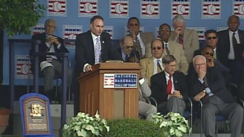 Paul Molitor's Hall of Fame induction speech