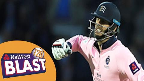 Finn The Hero In Final Wicket Drama: Highlights - Middlesex v Surrey NatWest T20 Blast 2017