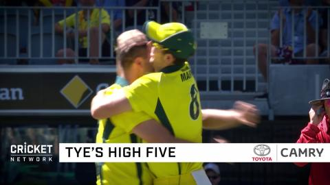 Biggest moments from the fifth ODI