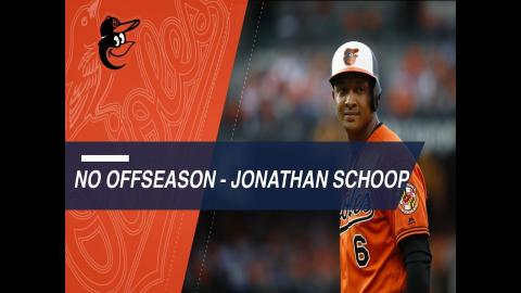 O's Jonathan Schoop trains, helps community in Curacao