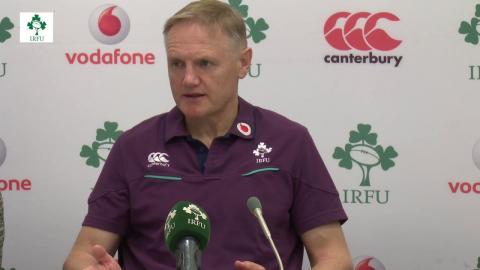 Irish Rugby TV: Joe Schmidt On Japan v Ireland