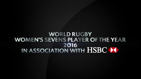 Women's Sevens Player of the Year   World Rugby Award Nominees 2016