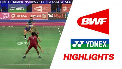 TOTAL BWF World Championships 2017 | Badminton Day 1 – Highlights