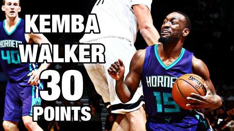 Kemba Walker Drops 30 in Brooklyn