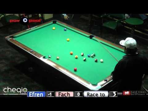 Pt 1 - Efren Reyes vs Fach Garcia / The Efren Reyes Challenge!