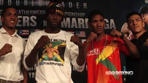 HBO Boxing News: Walters vs. Marriaga Final Press Conference