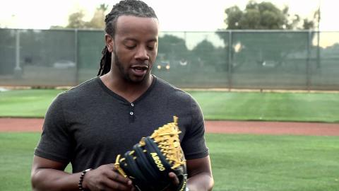 Rickie Weeks and the new Wilson A2000 RW23 GM Glove