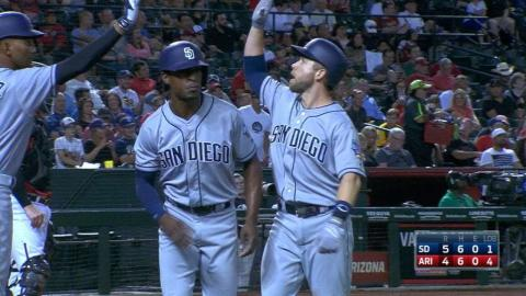 SD@ARI: Padres pile up five runs in the 4th inning