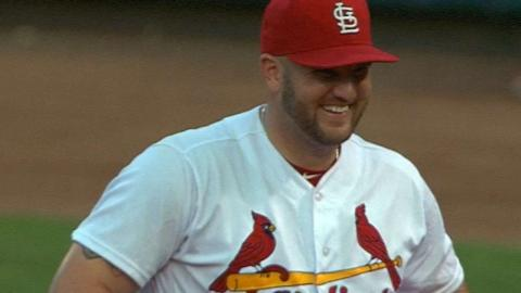 HOU@STL: Adams shows off defensive skills vs. Astros