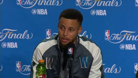Stephen Curry, Kevin Durant, Draymond Green NBA Finals Game 1 Press Conferences