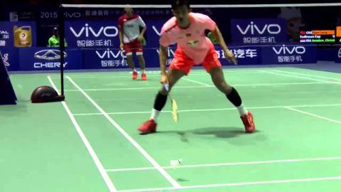 China vs Indonesia   SF - VIVO BWF Sudirman Cup 2015