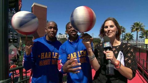 ARI@SF: Broadcast interviews the Harlem Globetrotters