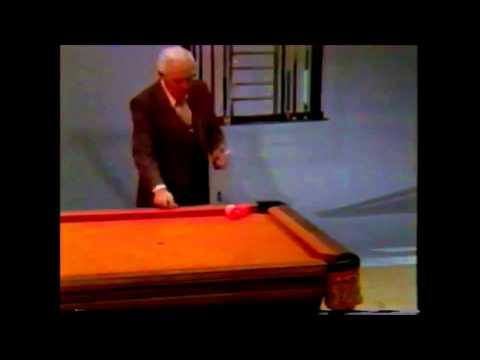 Willie Mosconi Pool Trick Shots