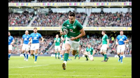 Conor Murray try after superb passing down the touchline | NatWest 6 Nations