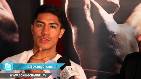 Jessie Vargas talks about the inclusion of Erik Morales as a trainer in his camp.