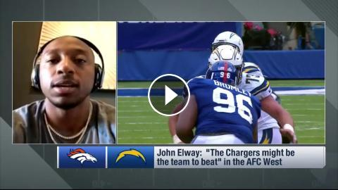 Denver Broncos Cb Chris Harris Jr On Who The Favorite Is In The Afc