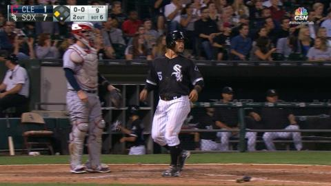 CLE@CWS: White Sox break tie with seven runs in 6th