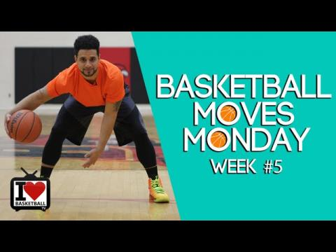 How To: Double Crossover Move   Basketball Moves Monday #5
