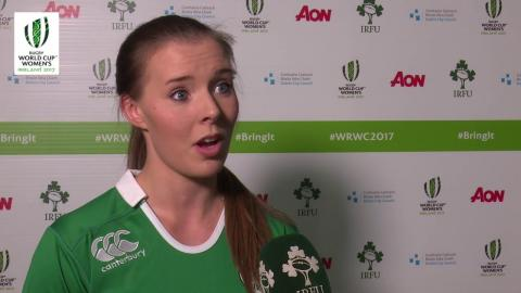 Irish Rugby TV: Claire McLaughlin On The Women's Rugby World Cup