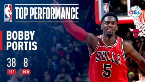 Bobby Portis Posts a CAREER-HIGH 38 Pts Off the BENCH   February 22, 2018