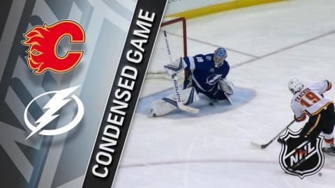 01/11/18 Condensed Game: Flames @ Lightning