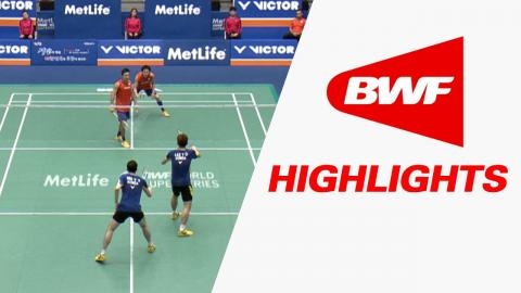 Victor Korea Open 2016 | Badminton QF – Highlights