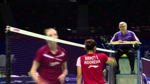 VIVO BWF SUDIRMAN CUP 2015   Denmark vs Indonesia - Day 4 Highlights