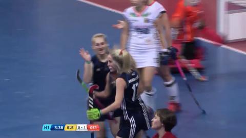 Belarus v Germany - Match Highlights Indoor Hockey World Cup - Women's Semi Final