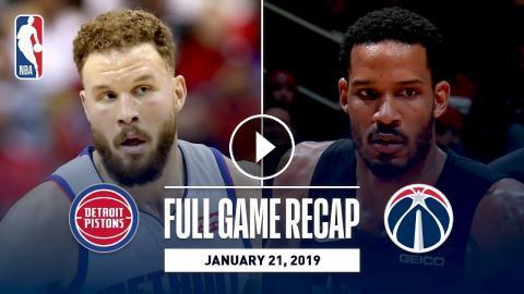 bf140c1af6b8 Full Game Recap  Pistons vs Wizards