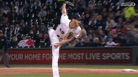 Sale sets franchise record for K's with 270