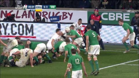 Highlights: England 21 Ireland 10