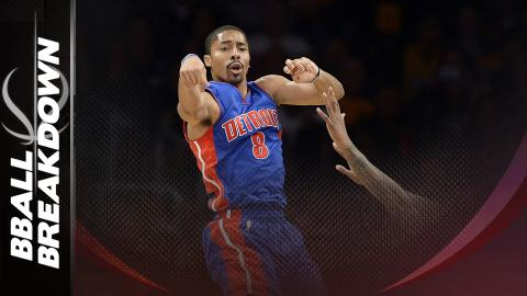 In The Film Room With Pistons Guard Spencer Dinwiddie