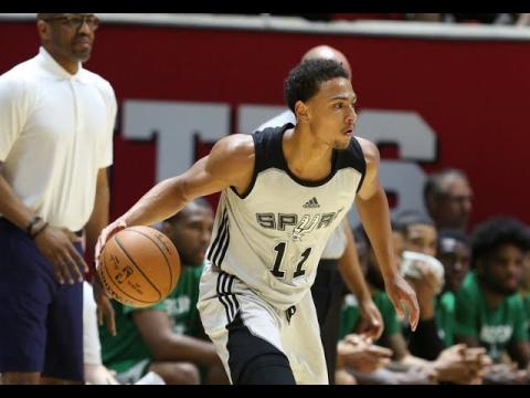 Full Highlights: Boston Celtics vs San Antonio Spurs from Utah Summer League