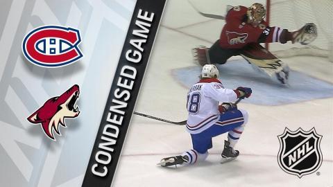 02/15/18 Condensed Game: Canadiens @ Coyotes