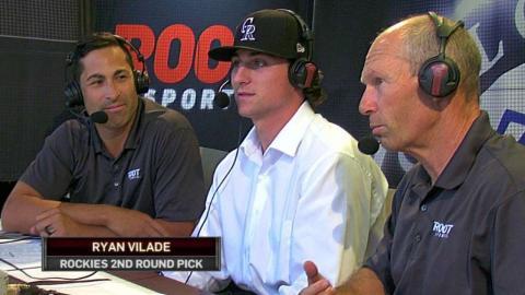 ARI@COL: Vilade discusses signing with Rockies