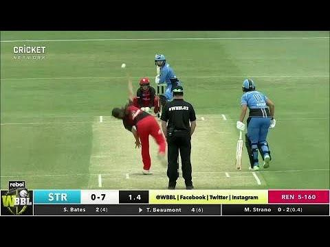 Melbourne Renegades v Adelaide Strikers, WBBL|03