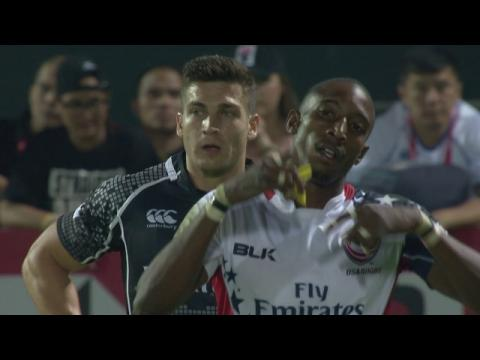 Seven sizzling tries from the Dubai sevens!